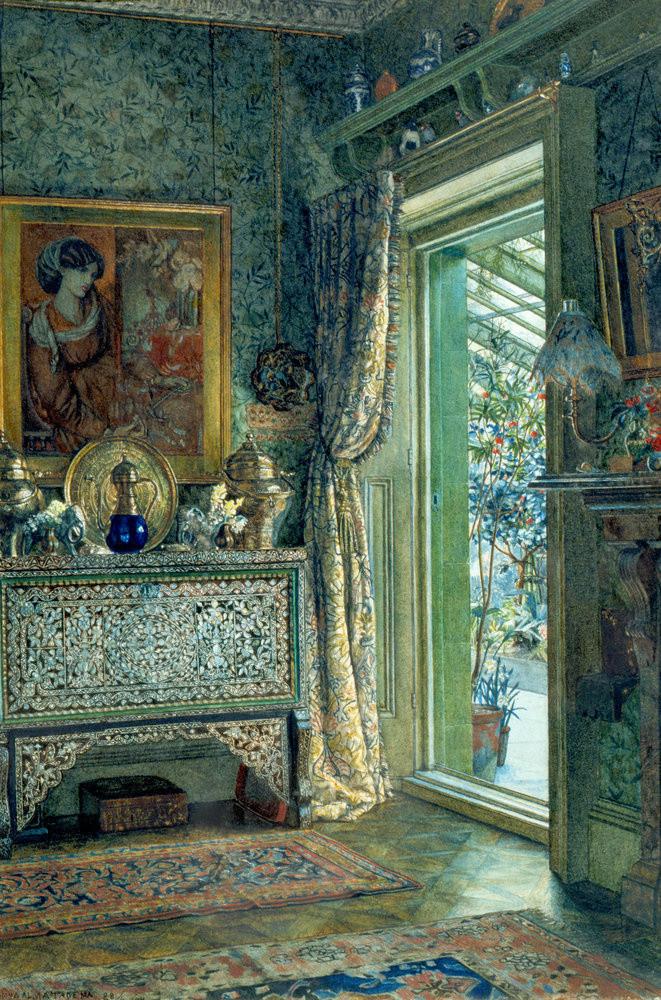 Alma Tadema Drawing Room Holland Park